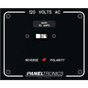paneltronics standard panel ac main double pole w 30amp cb. Black Bedroom Furniture Sets. Home Design Ideas