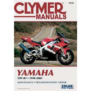 clymer yamaha yzf r1 1998 2003. Black Bedroom Furniture Sets. Home Design Ideas