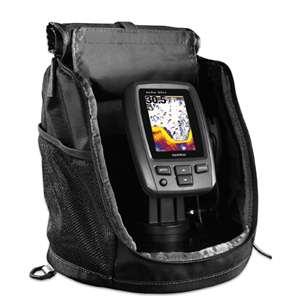 Garmin echo 301c fishfinder portable bundle for Garmin ice fishing transducer